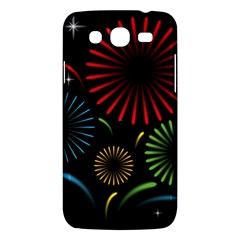 Fireworks With Star Vector Samsung Galaxy Mega 5 8 I9152 Hardshell Case