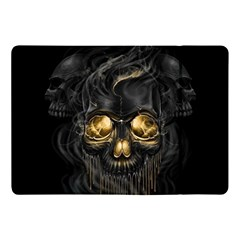 Art Fiction Black Skeletons Skull Smoke Apple Ipad Pro 10 5   Flip Case by BangZart