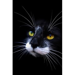 Face Black Cat 5 5  X 8 5  Notebooks by BangZart