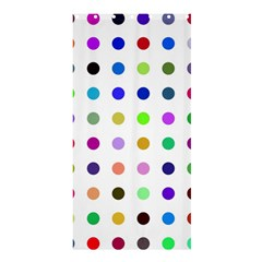 Circle Pattern Shower Curtain 36  X 72  (stall)  by BangZart