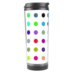 Circle Pattern Travel Tumbler