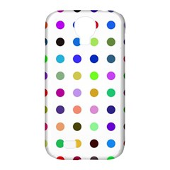 Circle Pattern Samsung Galaxy S4 Classic Hardshell Case (pc+silicone)