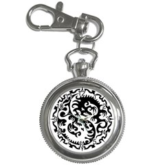 Ying Yang Tattoo Key Chain Watches