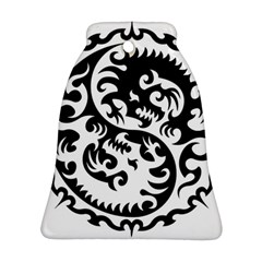 Ying Yang Tattoo Bell Ornament (two Sides)
