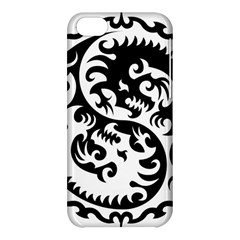 Ying Yang Tattoo Apple Iphone 5c Hardshell Case by BangZart