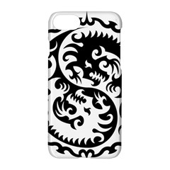 Ying Yang Tattoo Apple Iphone 7 Hardshell Case