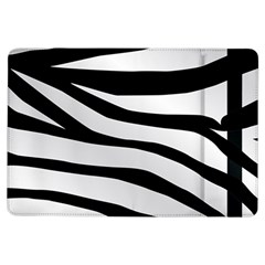 White Tiger Skin Ipad Air Flip
