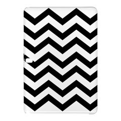 Black And White Chevron Samsung Galaxy Tab Pro 10 1 Hardshell Case