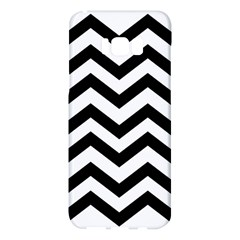 Black And White Chevron Samsung Galaxy S8 Plus Hardshell Case