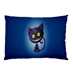 Funny Cute Cat Pillow Case (two Sides) by BangZart