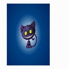 Funny Cute Cat Small Garden Flag (two Sides) by BangZart