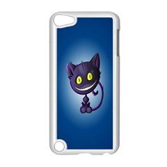 Funny Cute Cat Apple Ipod Touch 5 Case (white)
