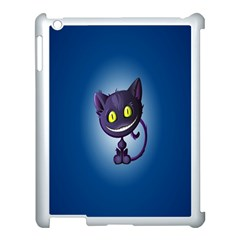 Funny Cute Cat Apple Ipad 3/4 Case (white) by BangZart