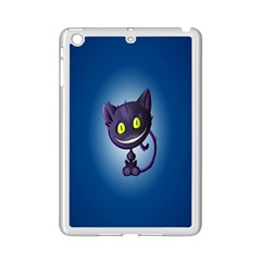 Funny Cute Cat Ipad Mini 2 Enamel Coated Cases by BangZart