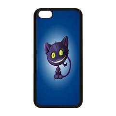 Funny Cute Cat Apple Iphone 5c Seamless Case (black)