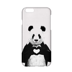 Panda Love Heart Apple Iphone 6/6s Hardshell Case by BangZart