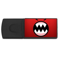 Funny Angry Rectangular Usb Flash Drive by BangZart