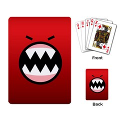 Funny Angry Playing Card by BangZart