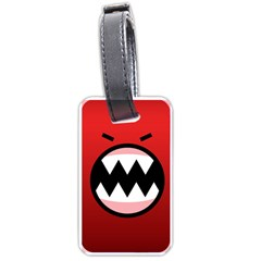Funny Angry Luggage Tags (one Side)  by BangZart