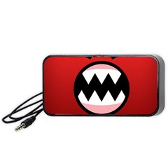 Funny Angry Portable Speaker (black) by BangZart