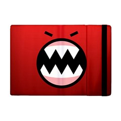 Funny Angry Apple Ipad Mini Flip Case by BangZart