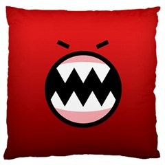 Funny Angry Standard Flano Cushion Case (one Side) by BangZart