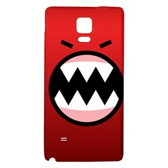 Funny Angry Galaxy Note 4 Back Case by BangZart