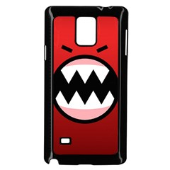 Funny Angry Samsung Galaxy Note 4 Case (black) by BangZart