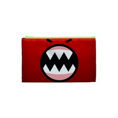 Funny Angry Cosmetic Bag (xs) by BangZart