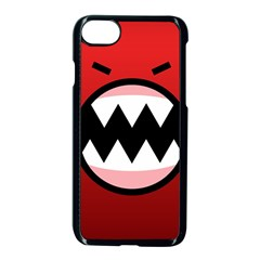 Funny Angry Apple Iphone 7 Seamless Case (black) by BangZart