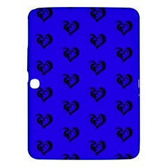 Lovely Hearts 17d Samsung Galaxy Tab 3 (10 1 ) P5200 Hardshell Case  by MoreColorsinLife