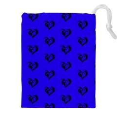 Lovely Hearts 17d Drawstring Pouches (xxl)