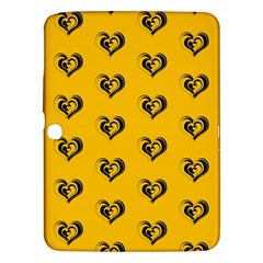 Lovely Hearts 17e Samsung Galaxy Tab 3 (10 1 ) P5200 Hardshell Case  by MoreColorsinLife