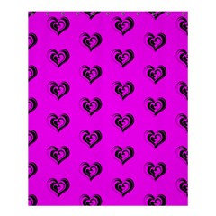 Lovely Hearts 17c Shower Curtain 60  X 72  (medium)  by MoreColorsinLife