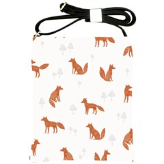 Fox Animal Wild Pattern Shoulder Sling Bags by BangZart