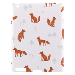 Fox Animal Wild Pattern Apple Ipad 3/4 Hardshell Case