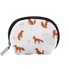 Fox Animal Wild Pattern Accessory Pouches (small)