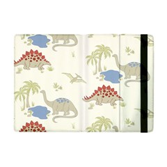 Dinosaur Art Pattern Apple Ipad Mini Flip Case