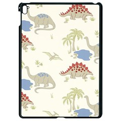 Dinosaur Art Pattern Apple Ipad Pro 9 7   Black Seamless Case by BangZart