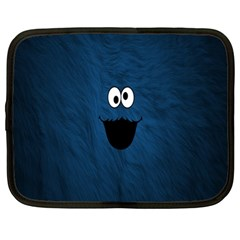 Funny Face Netbook Case (large) by BangZart