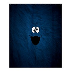 Funny Face Shower Curtain 60  X 72  (medium)  by BangZart