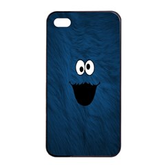 Funny Face Apple Iphone 4/4s Seamless Case (black)