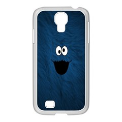 Funny Face Samsung Galaxy S4 I9500/ I9505 Case (white) by BangZart