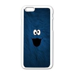 Funny Face Apple Iphone 6/6s White Enamel Case