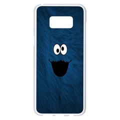 Funny Face Samsung Galaxy S8 Plus White Seamless Case by BangZart