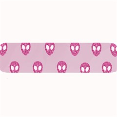 Alien Pattern Pink Large Bar Mats by BangZart