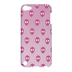 Alien Pattern Pink Apple Ipod Touch 5 Hardshell Case by BangZart