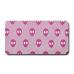 Alien Pattern Pink Medium Bar Mats