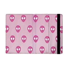 Alien Pattern Pink Apple Ipad Mini Flip Case by BangZart