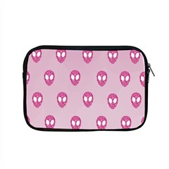 Alien Pattern Pink Apple Macbook Pro 15  Zipper Case